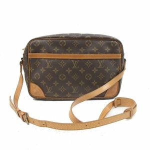 Auth Louis Vuitton Trocadero 27 Bag #1135L18